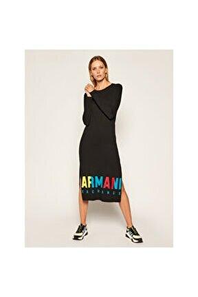 Kadın Siyah Elbise 6hyabc-yjw3z-1200