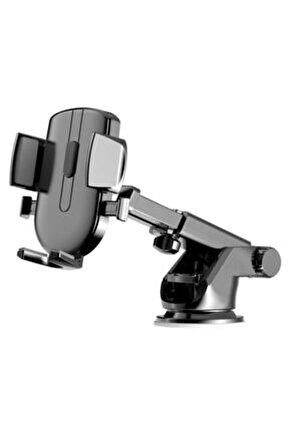 Ally A052b Teleskopik 360 Cep Telefonu Araba-araç Tutucu Siyah