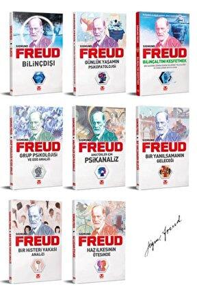 Sigmund Freud Kitap Seti - 8 Kitap, Bilinçaltı, Bilinçdışı, Psikanaliz Ve Kitle Psikolojisi