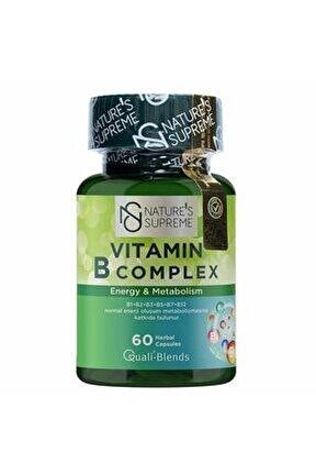 Vitamin B Complex 60 Kapsül