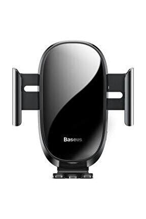 Future Gravity Serisi Cam Yüzey Araç Içi Havalandırma Telefon Tutucu Siyah