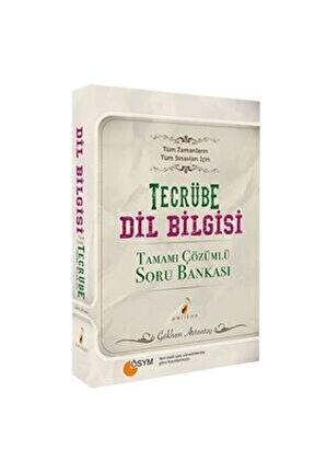 Tecrübe Taktiklerle Dil Bilgisi Çözümlü Soru Bankası