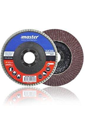 10 Adet 40 Kum 115x22 mm Metal Ahşap Flap Disk Zımpara