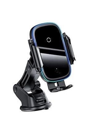 Light Electric Wireless Kablosuz 15w Hızlı Şarj Araç Tutucu Siyah