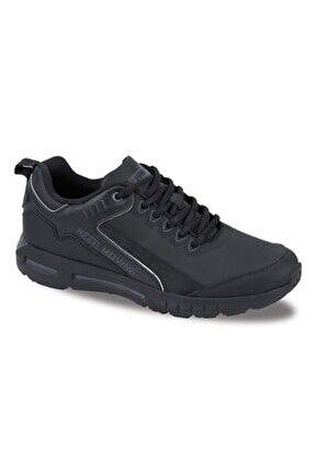 Erkek Siyah Gri Kaleron Hafif Rahat Spor Ayakkabı