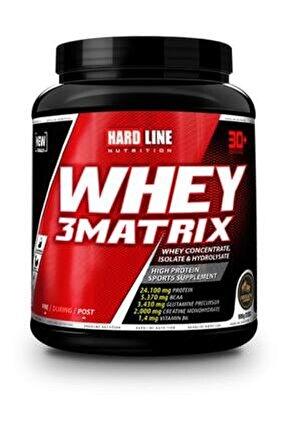 Whey 3 Matrix Çilekli 908 gr Protein Tozu Bcaa Aminoasit