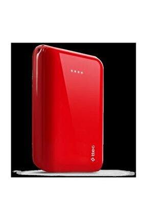 Recharger S 10.000mah Taşınabilir Şarj Aleti / Powerbank Kırmızı