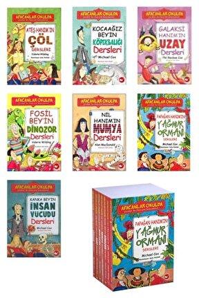 Afacanlar Okulu Kitap Seti / 7 Kitap / Wilding, Cox / Insan Vücudu,uzay,dinozor Ve Diğerleri