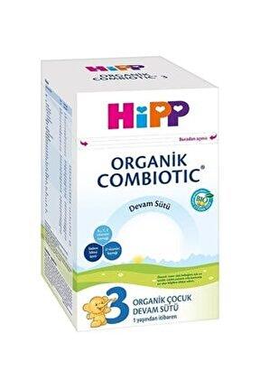 3 Organik Combiotic Devam Sütü 800 gr