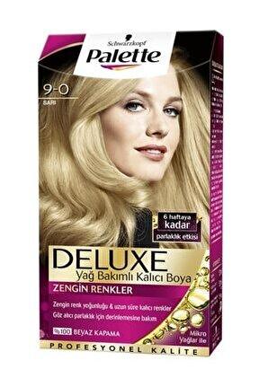 Deluxe Kit Sarı (9.0) Saç Boyası