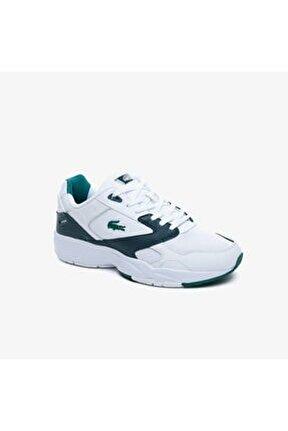 Storm96 Lo 0220 1 Qsp Sma Erkek Beyaz - Koyu Yeşil Sneaker