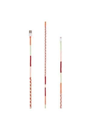 Ixtech By Aegean Usb - Type-c Yüksek Hızlı El Örgüsü Tasarım 1 Metre Şarj Ve Data Kablosu