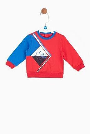 Erkek Bebek Kırmızı S-shirt