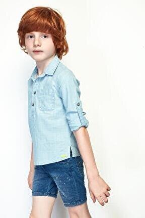 Erkek Çocuk Jean Gömlek 19ss0nb3603