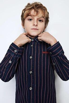 Erkek Çocuk Jean Gömlek