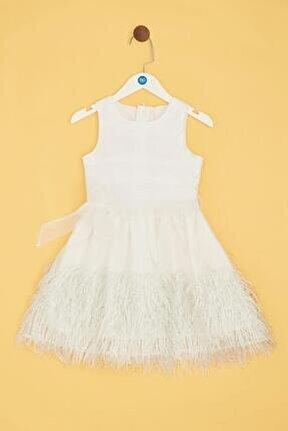Kız Çocuk Beyaz Elbise