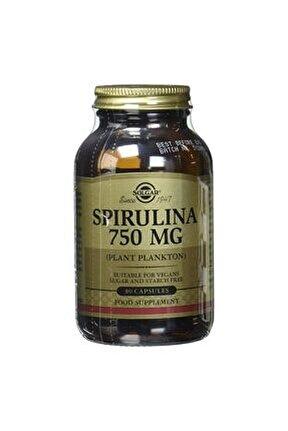 Spirulina 750mg 80 Tablet