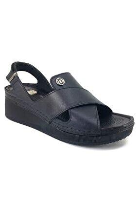 1280 Günlük Bayan Sandalet-siyah