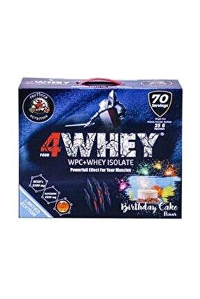 Doğum Günü Pasta Aromalı 4whey Limited Edition 2450 gr