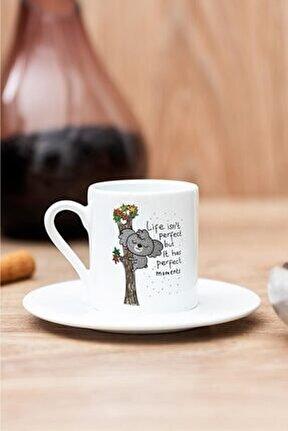 Koala Baskılı Kahve Fincanı