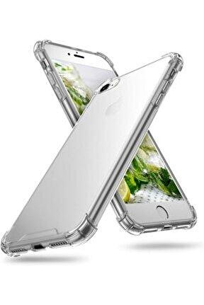 Iphone Se2 (2020) Iphone 8-7 Anti-drop Darbe Emici Silikon Kılıf Shockproof Kılıf - Şeffaf