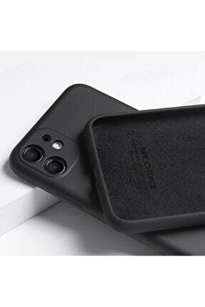 Apple Iphone 11 Kılıf Lansman Içi Kadife Yumuşak Silikon