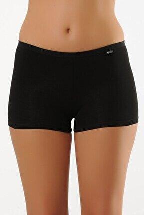 Siyah Kadın Boxer Short