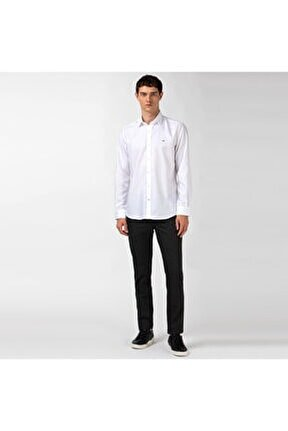 Erkek Slim Fit Slim Fit Siyah Pantolon HH2108