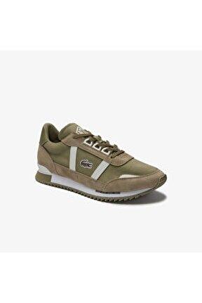 Partner Retro 0120 2 Sfa Kadın Haki - Beyaz Sneaker