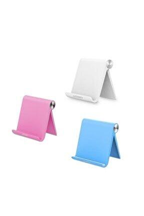Çok Açılı Masaüstü Tablet Standı Beyaz