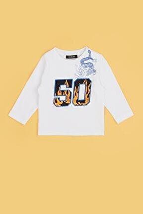 Erkek Bebek Beyaz T-shirt 20fw0bg1523