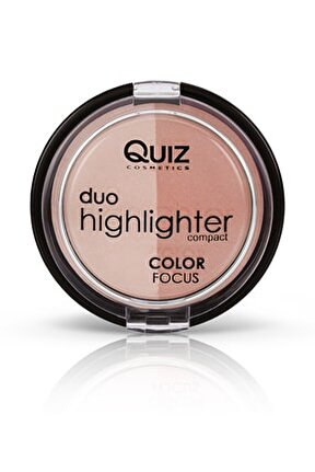 2'li Aydınlatıcı & Allık Seti - Color Focus Duo Highlighter 20