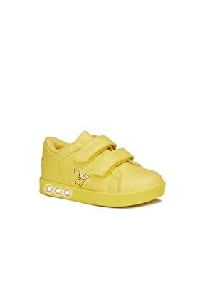 313.P19K.100-12 Sarı Kız Çocuk Yürüyüş Ayakkabısı 100578853