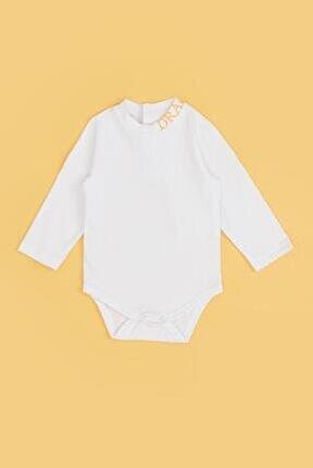 Erkek Bebek Beyaz Body 20fw0bg1534