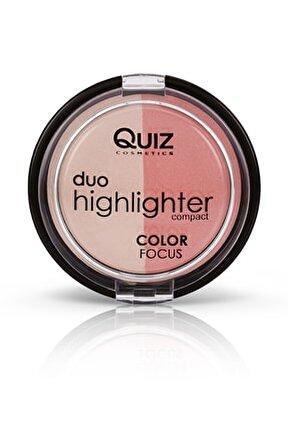 2'li Aydınlatıcı & Allık Seti - Color Focus Duo Highlighter 50