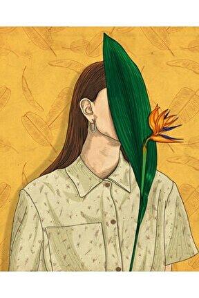 Bird Of Paradise, 30x37, Dijital Illüstrasyon