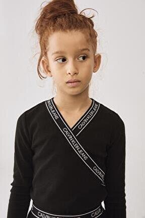 Kız Çocuk Siyah Kazak 20fw1ck0669