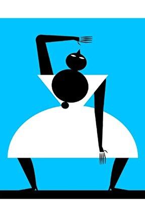 Freedance 1  Dijital Ilüstrasyon, Dokulu Kağıt 50x70