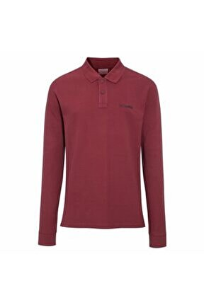 M Cascade Range Solid Ls Polo Sweatshirt Cs0099-678