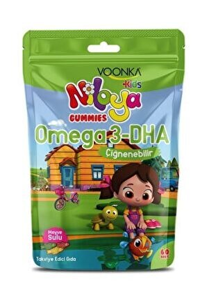 Nıloya Omega-3 Dha 60 Cıgneme Tablet