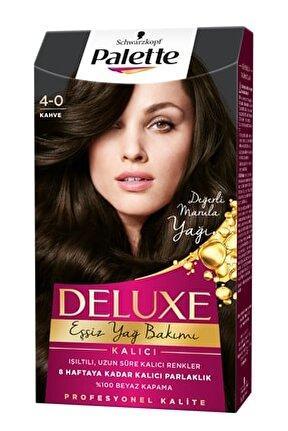 Deluxe Kahve (4-0) Saç Boyası