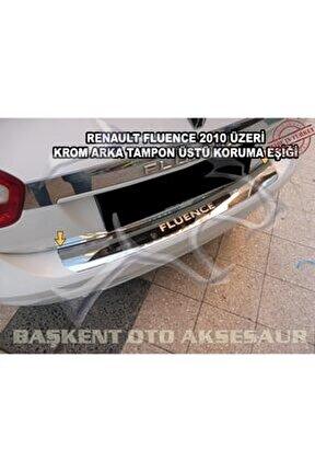 Renault Fluence Formlukrom Arka Tampon Üstü Koruma Eşiği 2010 Üzeri ( Yazılı )