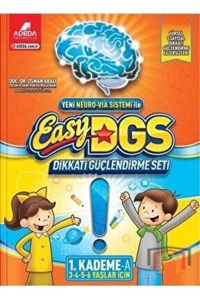 Easy Dikkati Güçlendirme Seti 1.kademe 3-6 Yaş A Kitabı