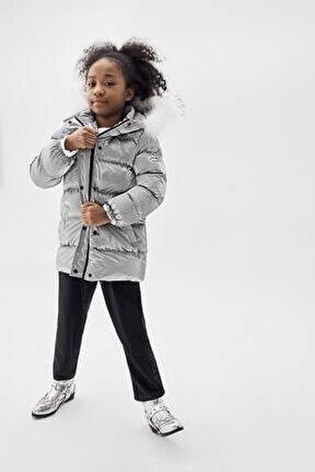 Kız Çocuk Gri Mont 20fw0tj4709
