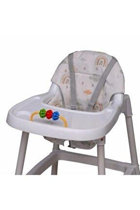 Gökkuşağı Mama Sandalyesi Minderi