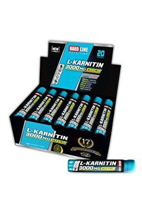 L-karnitin Matrix 3000 Mg 20 Ampul Limon Aromalı