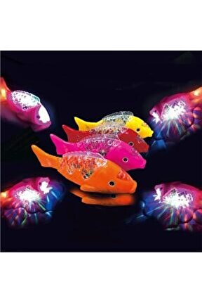 1 Adet Oyuncak Balık Hareketli Sesli Işıklı Yürüyen Balık