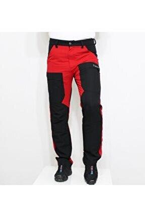 Adventurous Quickdry Yazlık Pantolon Kırmızı Siyah