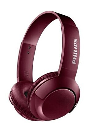 SHB3075RD/00 BASS+ Mikrofonlu Bluetooth Kulaklık - Kırmızı
