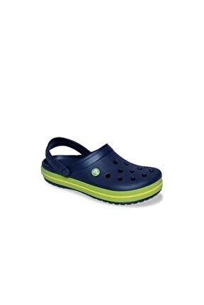 Crocband Kadın Terlik & Sandalet - Navy/Volt Green/Lemon (Lacivert/Volt Yeşil/Limon Sarı)
